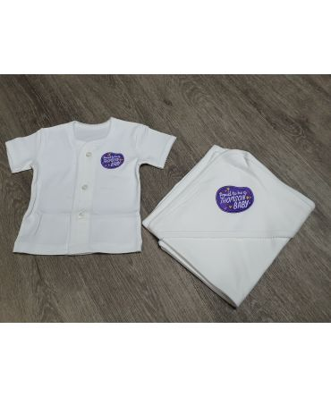 Thomson Baby Shirt and Wrap Set