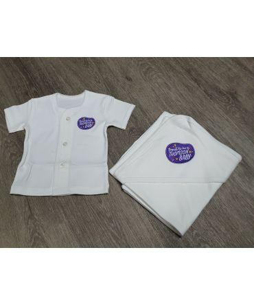 Thomson Baby Shirt and Wrap Set