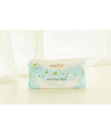 ESSENTIAL BY TMC MILKY SOFT ADULT WIPES (40S)