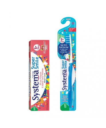 Systema Super Smile Toothbrush & Toothpaste Set