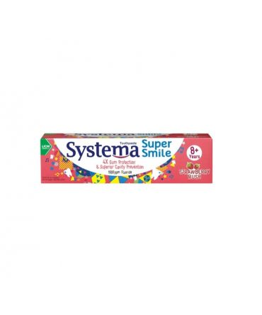 Systema Super Smile Toothpaste (Strawberry Rush)