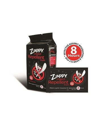 [40th Anniversary Special] Zappy Insect Repellent Wipes