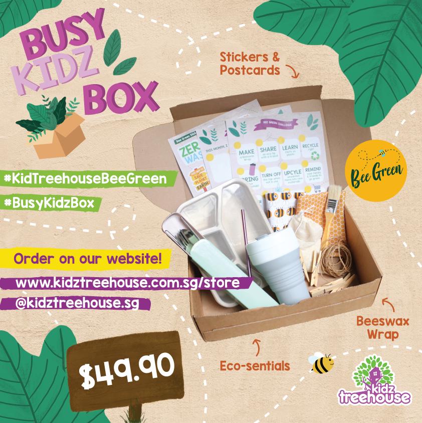 10% off for Kidz Treehouse Busy-Kidz Box