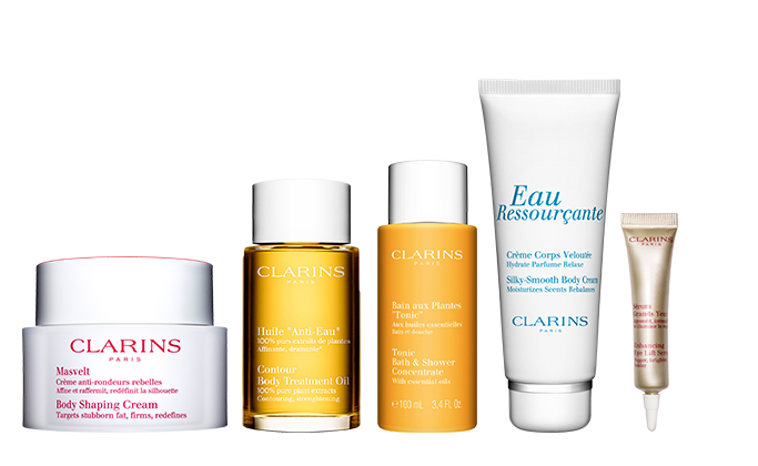 Clarins Post-Pregnancy Body Shaper Set at $192 (u.p $299)