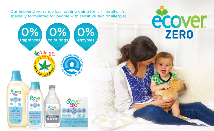 Enjoy one-time 20% off ECOVER products