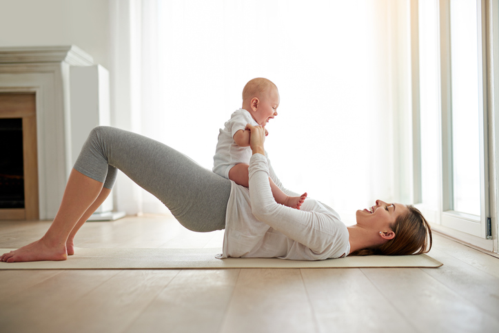Regain your strength and shape after pregnancy