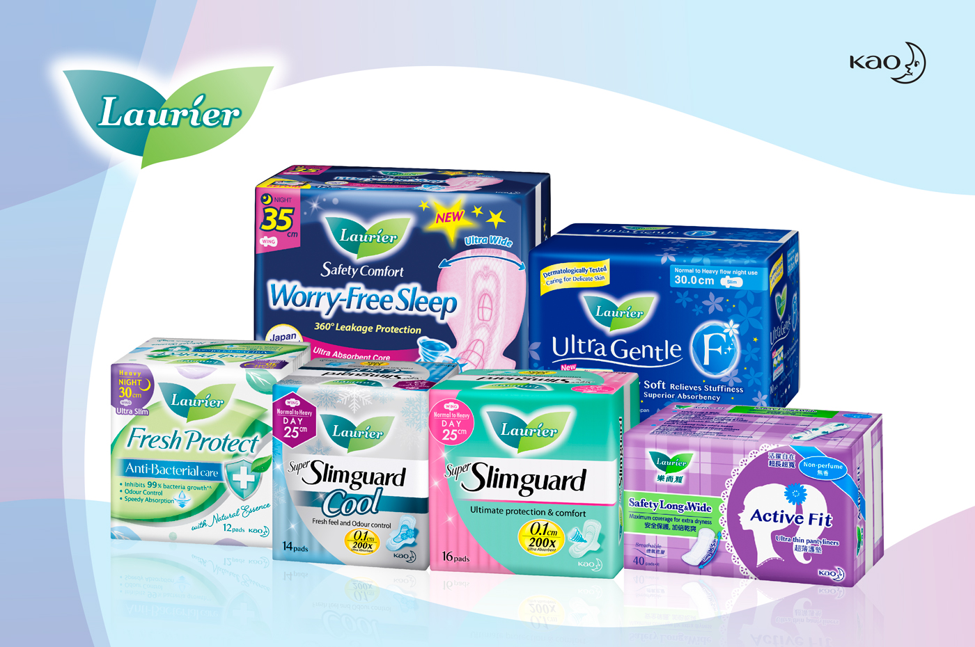 Enjoy 10% off all Laurier sanitary pads and pantyliners