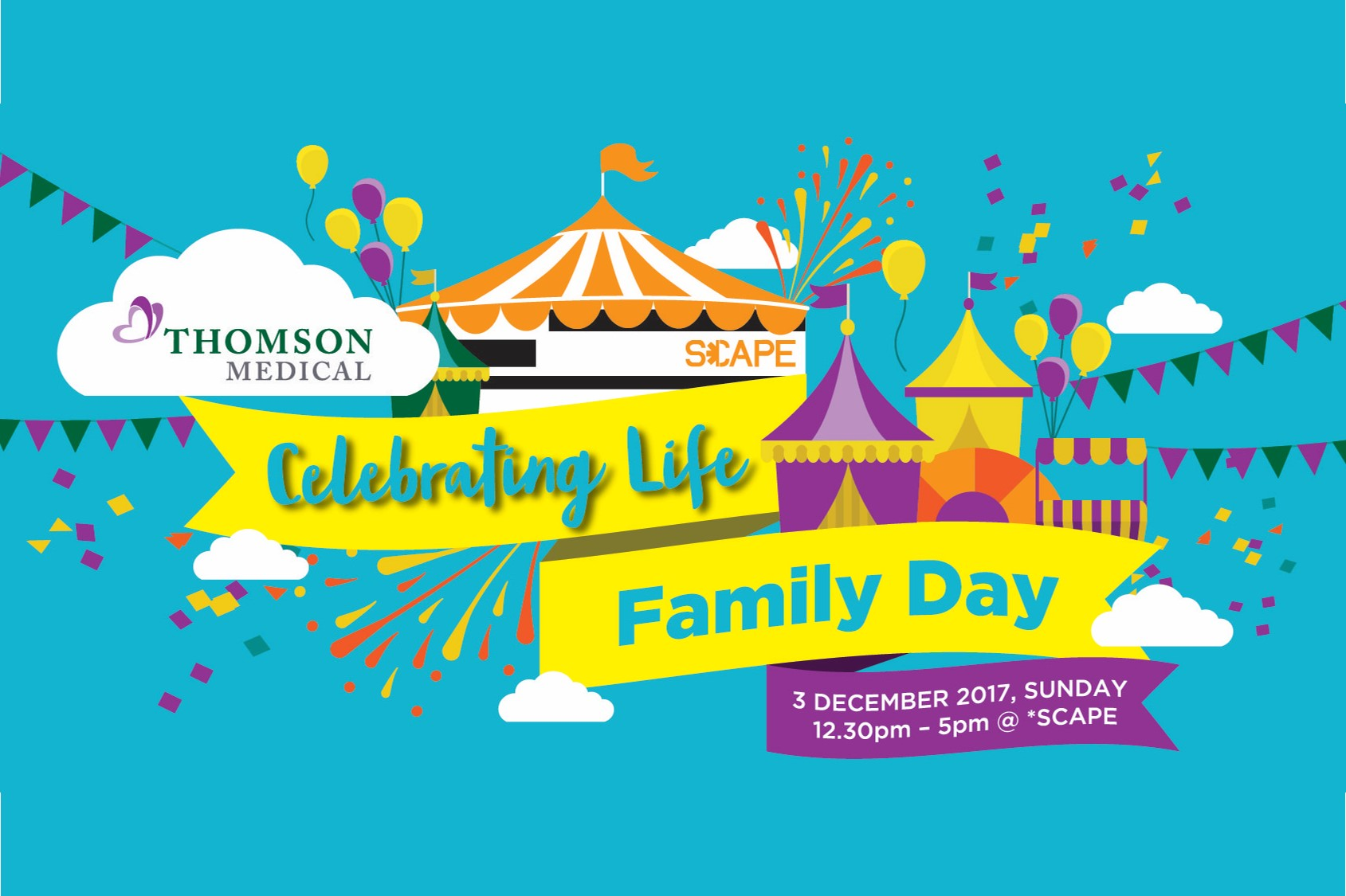 Thomson Celebrating Life Family Carnival 2017