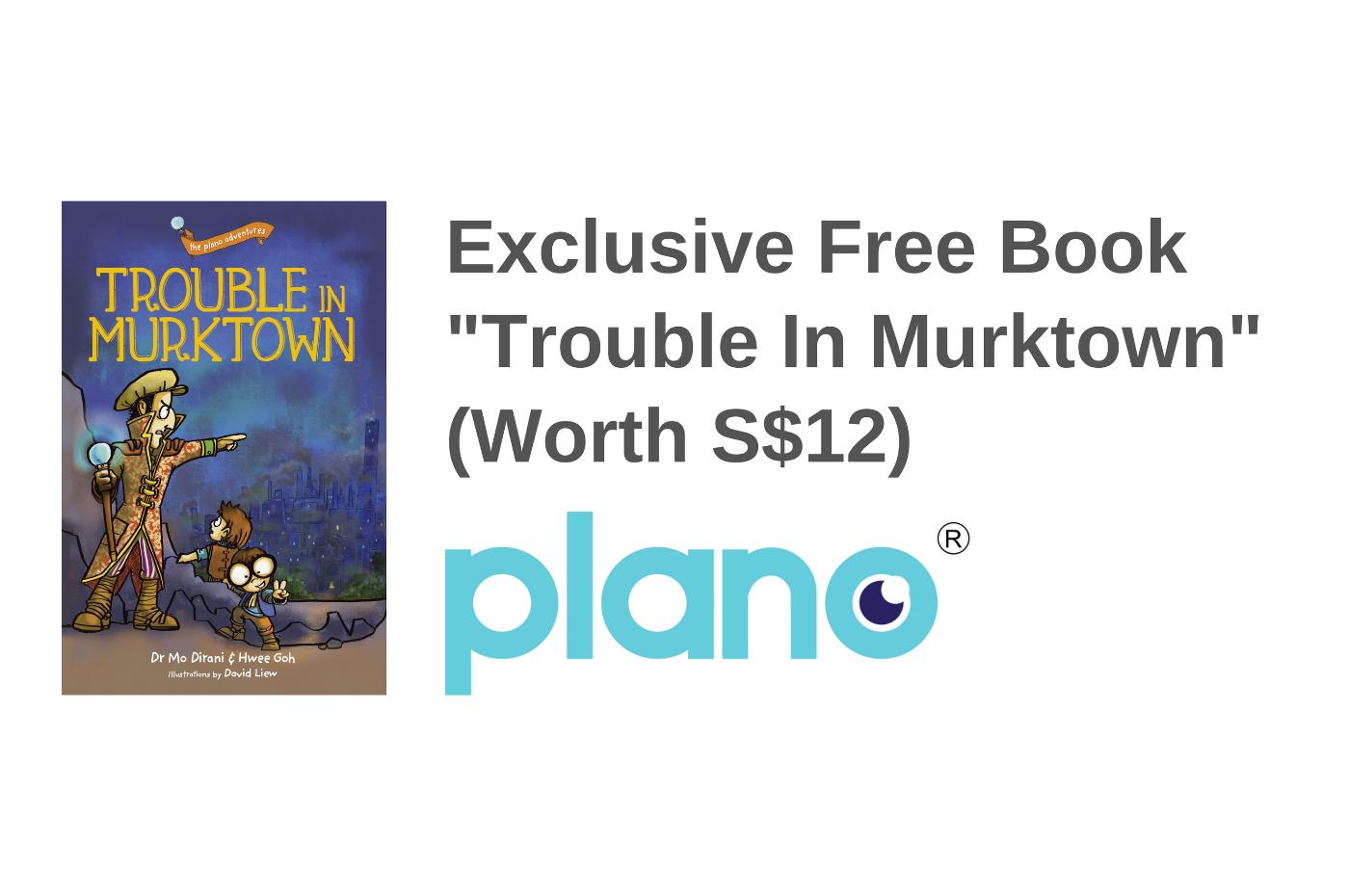 """Free """"Trouble in Murktown"""" Children's Book (Worth $12)"""