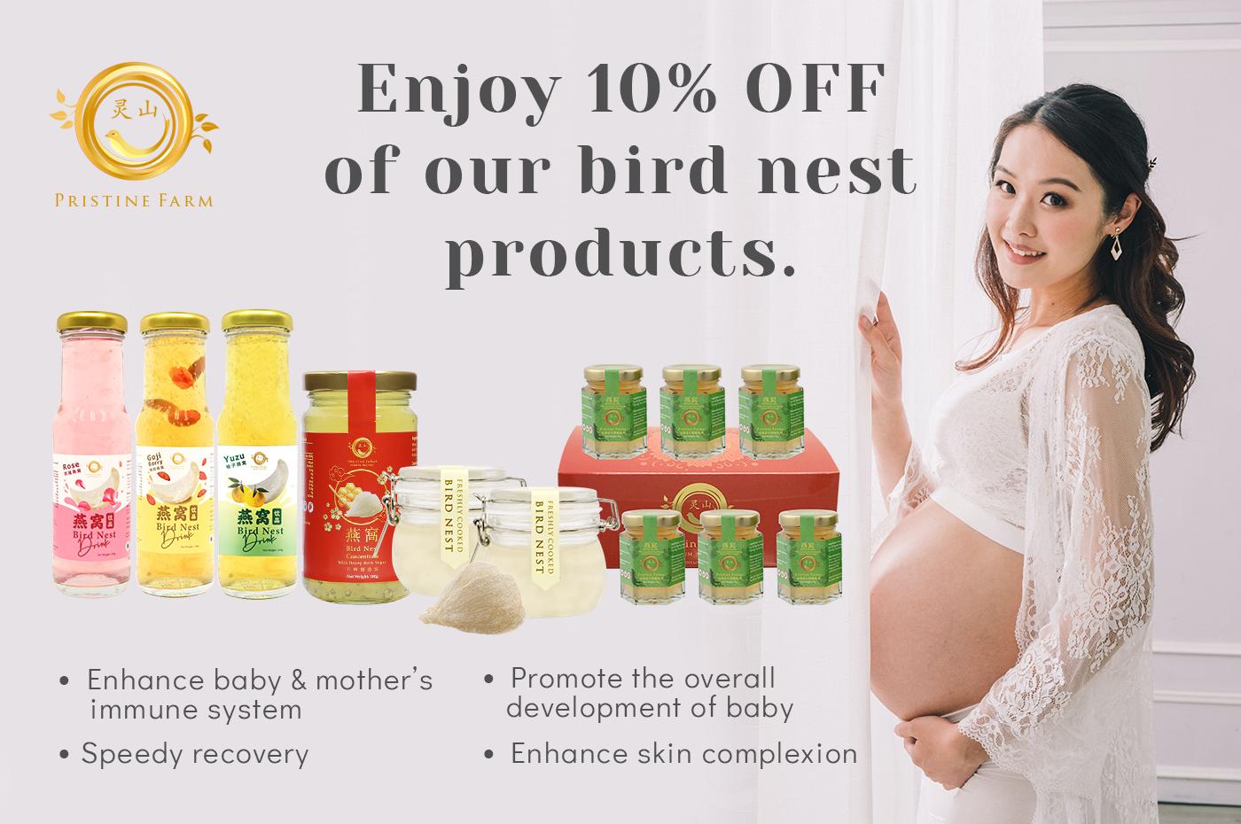 Enjoy 10% OFF Pristine Farm Bird Nest.