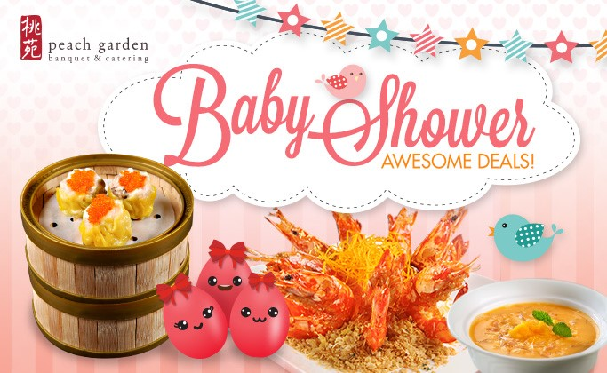 Baby Shower Deals - 5pax Off & Choice of 1 Free Beverage