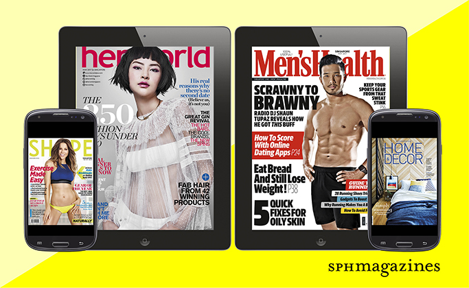 Enjoy Up to 75% Off Subscription for Your Favourite SPH Magazines