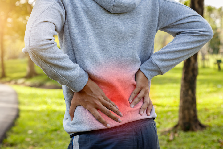 Common symptoms of musculoskeletal problems